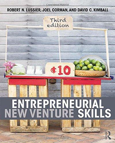 Entrepreneurial New Venture Skills