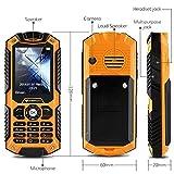 IceFox Dual Sim Outdoor Handy,2,4 Zoll Display,IP68 Wasserdicht,Stoßfest, Rugged Handy Ohne Vertrag mit Lautem Lautsprecher und Fahrradlicht - 4