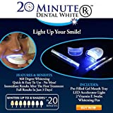 GadgetsForYou! Kit Trattamento Sbiancante Denti Tartaro Gel 20 Minute Dental White LED Sorriso