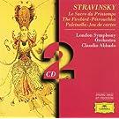 Stravinsky: Le Sacre du Printemps; The Firebird; P�trouchka; Pulcinella; Jeu de cartes (2 CD's)