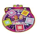 HOMCOM Dance Music Mixer Electronic Musical Play Mat Sensitive Dancing Floor Mat Children Kids Toy Foldable & Adjustable