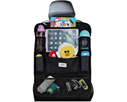 SURDOCA Organizer Sedile Auto, Organizer Auto Bambini, 4th Gen【9 Pocket】Organizer Sedile Posteriore, Perfetta Vestibilità con