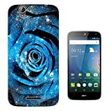 002370 - Cool galaxy style Blue rose stars out of this