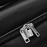 XXL Reisetasche mit Trolleyfunktion 160 Liter in Schwarz Sporttasche