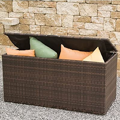 Siena Garden 105626 Universalbox Cadiz, bi-color mocca L131xB61xH65cm von Siena Garden - Du und dein Garten