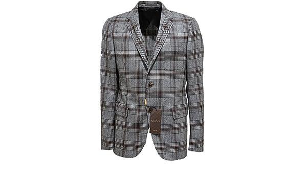 7797bf791c Gucci 7074L Giacca Uomo Lana Giacche Jackets Coats Men [50]: Amazon.it:  Abbigliamento