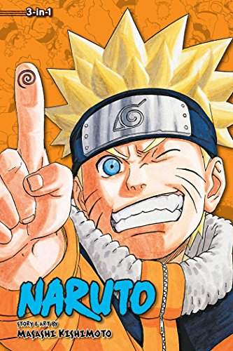 Naruto - 3 In 1Edition, Volume 9: 25-26-27