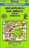 Bischofsgrün - Bad Berneck: Gefrees - Goldkronach (Fritsch Wanderkarten 1:35000) -