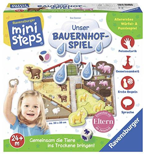 Insel Bauernhof (Ravensburger 04510 - Ministeps Unser Bauernhof-Spiel)
