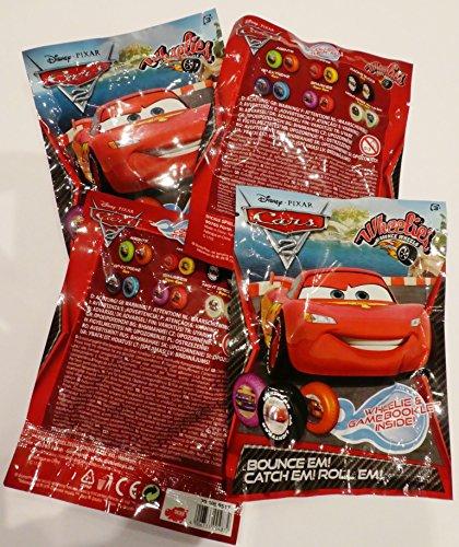 isney Pixar Cars 2 - Wheelies (4 Packungen) (Wheelies Cars 2)