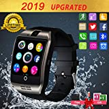 Smartwatch con Whatsapp,Bluetooth Smart Watch Pantalla táctil,Reloj Inteligente Hombre,Impermeable Smartwatches Compatible Android iOS Phone X 8 7 6 5 Plus Samsung Huawei para Hombre Mujer