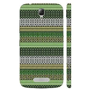 Lenovo A2010 Line it Green designer mobile hard shell case by Enthopia