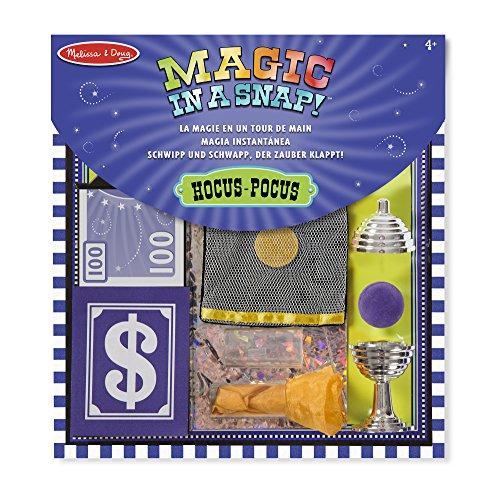 Melissa & doug- set di trucchi di magia hocus pocus, 12 pezzi, 15190