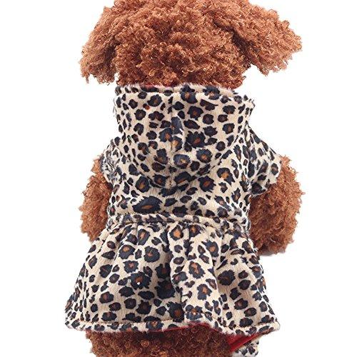 Culater® Cani Leopardo Al Massimo Il Cotone Felpa Vestiti