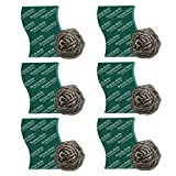#5: Scotch-Brite Steel Ball (Pack of 6) and Scrub Pad (Pack of 6)