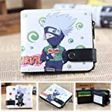 Anime Wallet Naruto Carteras De Juegos Cosplay School Students Money Bag Titular De La Tarjeta Bifold Monedero para