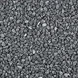 Dekogranulat / Dekosteine (2-3 mm), 1 kg, anthrazit