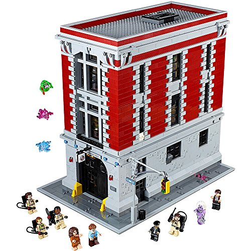 Lego Ghostbuster (LEGO Ghostbusters 75827 Firehouse Headquarters Building Kit (4634 Piece) by LEGO Ghostbusters)