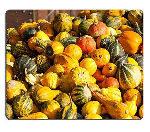 (luxlady Gaming Mousepad Bild-ID: 34270603Dekoration Mini Kürbis Cucurbita Kürbis Kürbisse von Herbst Ernte auf einem Markt)