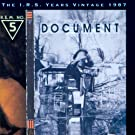 Document - The I.R.S. Years Vintage 1987
