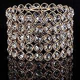 Gold Kristall Lampenschirme Funkelnd Decken Lampenschirme für Wohnzimmer,...