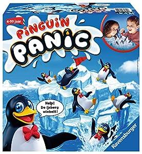 Ravensburger Pinguin Panic Niños y Adultos Juego de Habilidades motrices Finas - Juego de Tablero (Juego de Habilidades motrices Finas, Niños y Adultos, 20 min, Niño/niña, 4 año(s), 99 año(s))