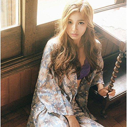 YI Südkoreas Japanischen Frische Daisy Harness DREI SäTZE von Losen Breiten Beinhosen Pyjama Set,EIN,XL Sa-daisy