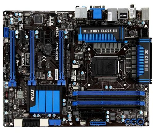 MSI Z77A-GD80 Scheda Madre Intel ATX Socket 1155