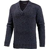 REPLAY Herren V-Pullover blau L