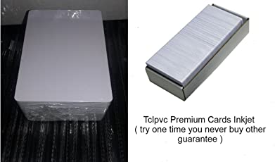 TCLPVC ID Card For Epson L800, L810 & Printer HD US 235 Pieces Original For Epson