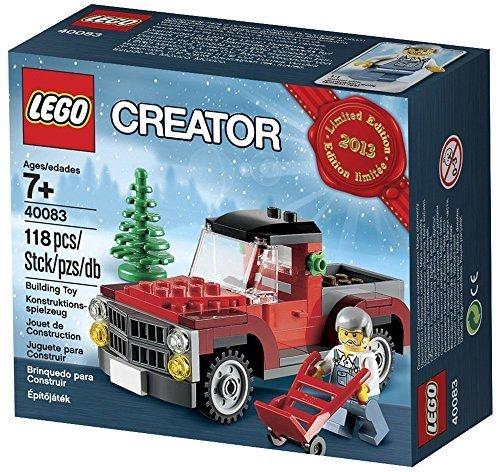 Preisvergleich Produktbild Lego Creator Tree Truck 2013 Limited Edition Holiday Set 40083(US Version, importiert)