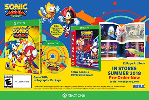Sonic Mania Plus XBox One US VERSION (Sonic The Hedgehog 2 Xbox)
