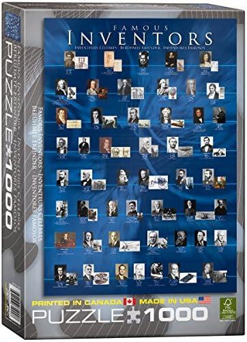 Cadeau de fin d'année, vente directe à l'usine Eurographics Eurographics Eurographics célèbres Inventeurs puzzle (1000 pièces) | Jolie Et Colorée  d5a654