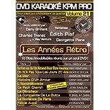 DVD Karaoké KPM Pro Vol. 21 Les Années Rétro