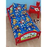 Juego de cama de la Patrulla Canina al rescate, para infantes, juego de 4 en 1