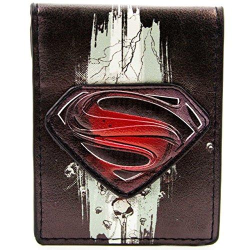 DC Comics Superman Man Of Steel Skull Multicolore portafoglio