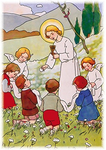Images Saintes Communion Enfant Jésus par Lot de 10