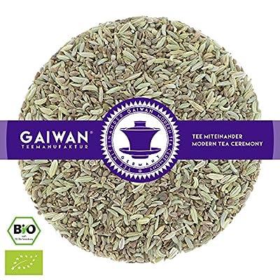 """N° 1257: Thé aux herbes bio """"Fenouil, anis, carvi (thé digestion, thé pour digérer)"""" - feuilles de thé issu de l'agriculture biologique - GAIWAN® GERMANY - anis, fenouil, carvi"""