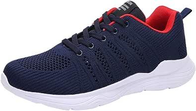 Bluestercool Moda Uomo Running Scarpe Sneakers Trend Breathable Mesh Leggero Casual