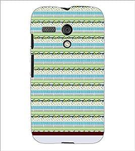 PrintDhaba Pattern D-1097 Back Case Cover for MOTOROLA MOTO G (Multi-Coloured)