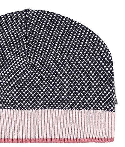 Noppies Baby-Mädchen Mütze G Hat Knit Tilden, Mehrfarbig (Midnight Blue C163), One...