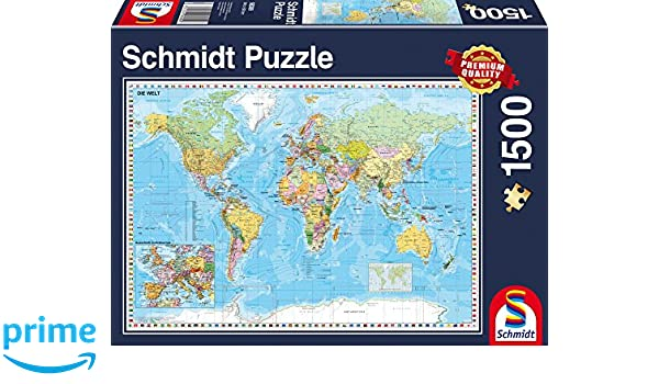 Schmidt spiele 58289 the world jigsaw puzzle 1500 piece jigsaw schmidt spiele 58289 the world jigsaw puzzle 1500 piece jigsaw puzzle amazon toys games gumiabroncs Image collections