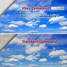 murando Cuadro 120x80 cm - Grande Formato - Impresion en calidad fotografica TOP - lienzo tejido-no tejido - 3 Partes - Ciudad Paris City Torre Eiffel Francia - efecto de pintura d-B-0064-b-e 120x80 cm
