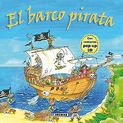 El barco pirata con fantásticas ventanas pop-up