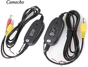 Camecho Neu 2.4G Drahtloser Farben-Videoübermittler und Empfänger für die Träger-Unterstützungskamera-vordere Auto-Kamera