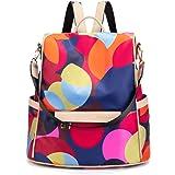 NAITOKE Women Backpack Anti-theft Backpack Lightweight Travel Shoulder Bag