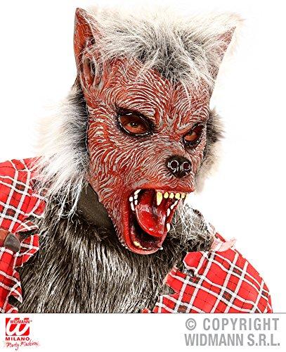 Enter-Deal-Berlin HALBMASKE - Werwolf - Horrormasken Vampir Tod Skelette Monster Wölfe