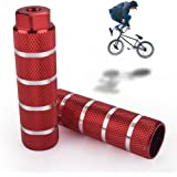 Fietssteunen, 2 stuks Universele aluminium fietsvoetsteunen BMX-stuntsteunen Fietssteunen Antislip achtervoeten Pedalen Fiets