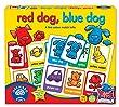 """Orchard Toys -  Jeu de chien rouge, chien bleu """"Red Dog, Blue Dog"""" - Langue: anglais"""