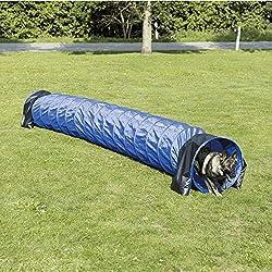 Trixie Dog Activity Tunnel Basic Agilité 60 cm / 5 m Bleu
